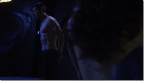 brian j. smith shirtless stargate universe