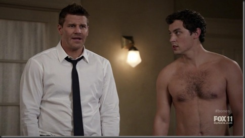 John Francis Daley shirtless bones