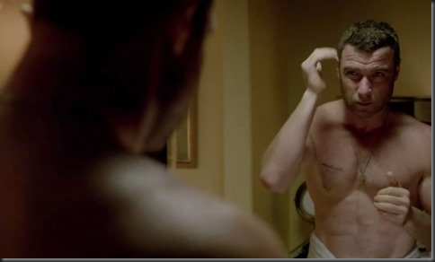 Liev Schreiber shirtless Ray Donovan